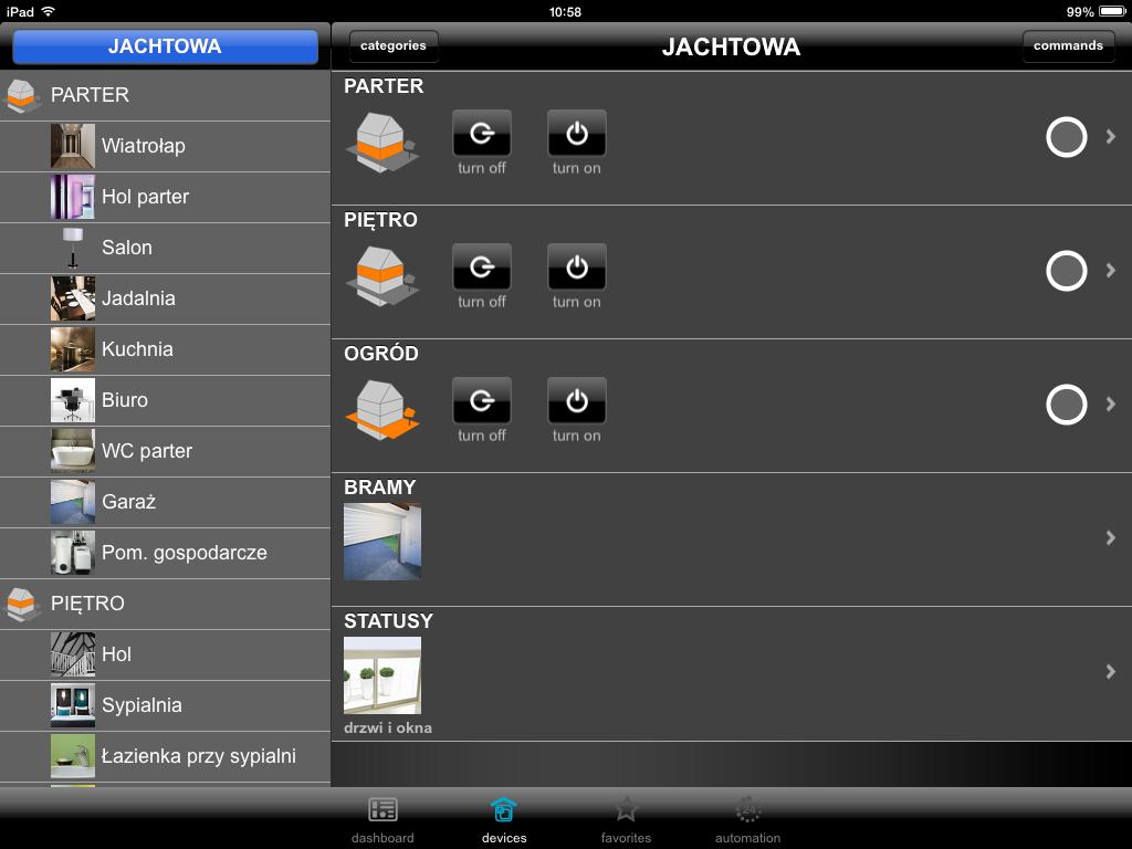 Hager Domovea - iPad