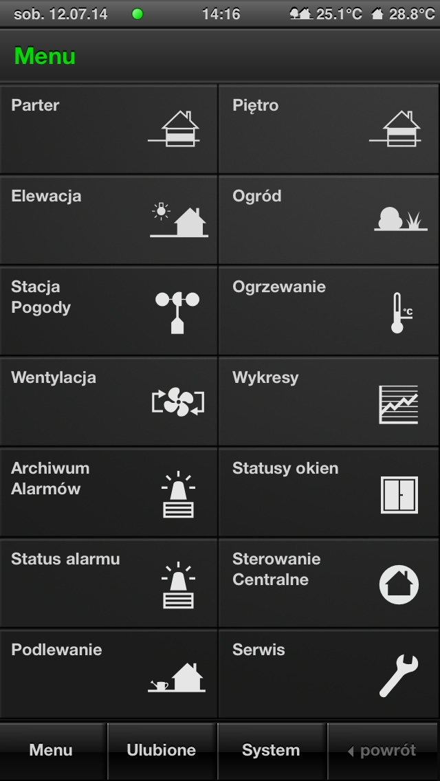 GIRA HomeServer - iPhone